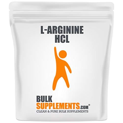 arginine powders BulkSupplements.com L-Arginine HCl Powder - L-Arginine 1000mg - Nitric Oxide Supplement - Oxygen Boost - Arginine Powder (5 Kilograms - 11 lbs)