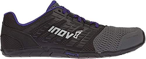Inov-8 Women's Bare-XF 210 v2 (W) Cross Trainer, Grey/Black/Purple, 9.5 B US