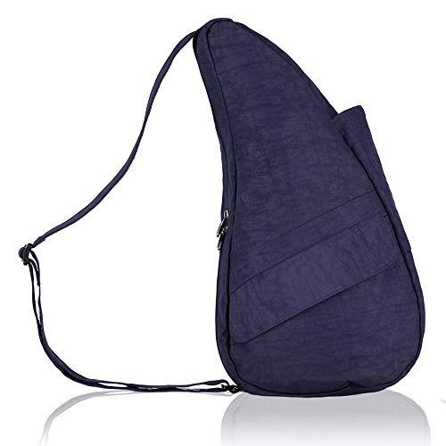 AmeriBag Classic Healthy Back Bag Tote Distressed Nylon Small (Blue Night)