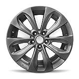 Road Ready Car Wheel for 2011-2013 Hyundai Sonata 18 inch 5 Lug Aluminum Rim Fits R18 Tire - Exact OEM Replacement - Full-Size Spare