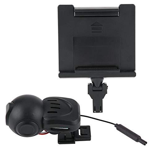 Jadpes Videocamera WiFi HD, 0.3MP Ruota da Neve Ricambi Auto Ruota da Arrampicata per Auto Telecamera WiFi per Drone telecomandato Pneumatici da Neve Parte Accessori per cingoli