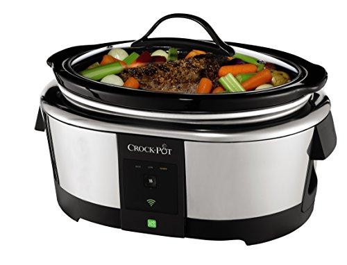 Product Image 10: Crock-Pot 6-Quart WeMo-Enabled Smart Slow Cooker, Stainless Steel