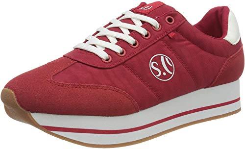 s.Oliver Damen 5-5-23612-34 Sneaker, Rot (Red 500), 39 EU