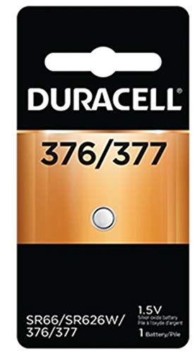 Duracell Silver Oxide Battery Watch/Electronic 1.5 Volt 377 1 Each (Pack of 4)