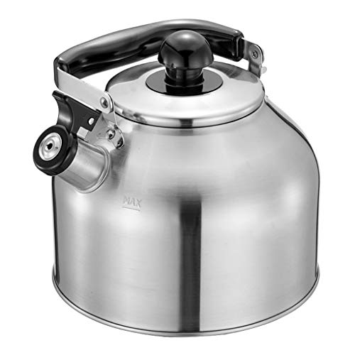 Sifflet de fond de bouteille d'eau chaude universel de cuiseur de gaz d'acier inoxydable 304 épaissi UOMUN