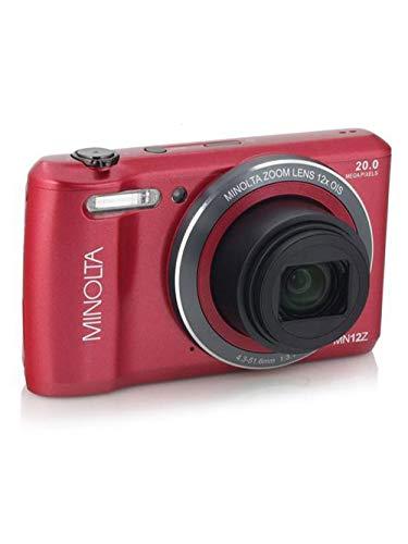 Minolta MN12Z-R 20.0-Megapixel HD Wi-Fi Digital Camera (Red)