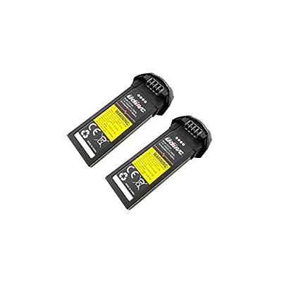Ocamo Lithium Battery 7.4V 350mah for UDI U31 / U31W / U36 / T25 / U34W / U36W Remote Control Helicopter Spare Parts Battery 2PCS