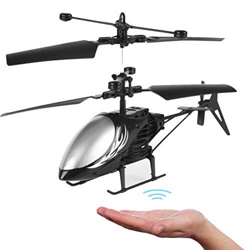Hinder Control remoto helicóptero volador juguetes Led recargable de mano dron con luz LED para niños regalo muñeca de niño