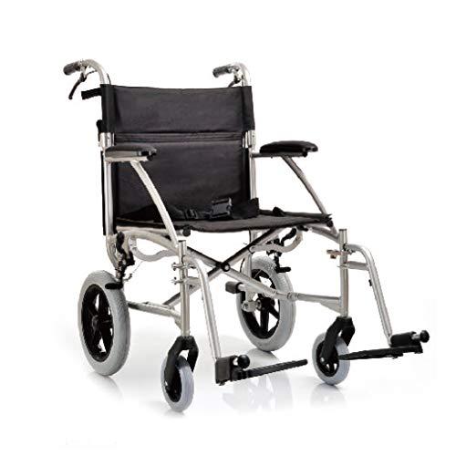 YUWELL - Silla ruedas plegable aluminio ultraligera