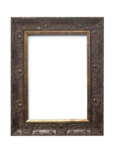 Memory Box WD-WOSCASM-2-Px-Rl-GlsParent Cadre Photo en Verre véritable de 58 mm de Large et 28 mm de Profondeur Couleur Acajou 30 x 40 cm