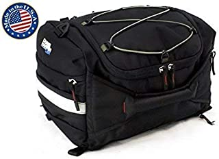 """Chase Harper 4200 Hideaway Tail Trunk - Water-Resistant, Tear-Resistant, Industrial Grade Ballistic Nylon with Adjustable Bungee Mounting System for Universal Fit, StuffSack Pocket for Easy Transport, 18.8 Liters of Storage - 12""""Lx12""""Wx8""""H"""