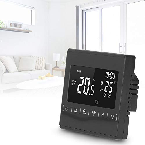RBSD Controlador de Temperatura, termostato de Suelo Radiante, táctil LCD eléctrico de 3 Modos para el hogar