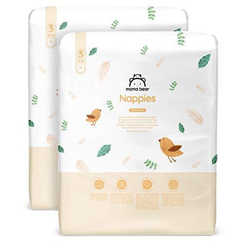 Marchio Amazon - Mama Bear, 184 pannolini premium, taglia 3 (4-9 kg)