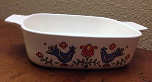 Vintage Corning 5 popular Ware Country Festival Casserole A-1 Popular product Dish Quart 1