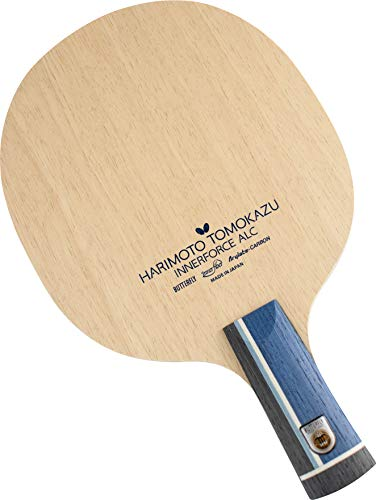 Butterfly Harimoto Innerforce ALC CS Table Tennis Blade - AL Carbon Fiber Blade - Harimoto Innerforce ALC CS Blade - Chinese Penhold Handle Type - Made in Japan