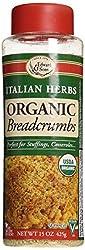 Edward & Sons Organic Breadcrumbs Italian Herbs -- 15 oz