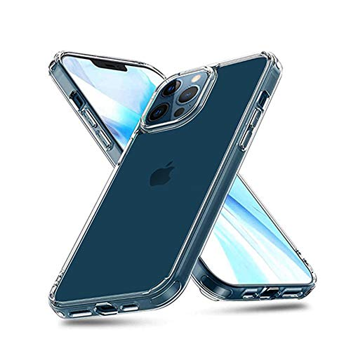 6.7inch Adonit Phone Case Protective case with TPU+PC, Shock-Proof, Anti-Drop Technology. Soft Edges and a Slim, Lightweight Design, Ultra-Clear Cover Perfect for iPhone 12 Pro Max 6.7 (2020) Clear