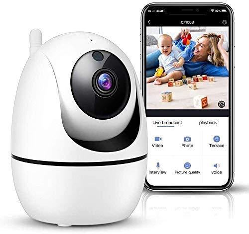 ZXCV Vigilancia Equipo de Vigilancia Móvil WiFi Remoto Cámara de Vigilancia Inteligente Cámara Detección Automática Hogar Interior Monitor de Seguridad