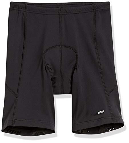 Amazon Essentials Pantalón Corto de Ciclismo Acolchado. Cycling-Shorts, Negro, US L (EU L)