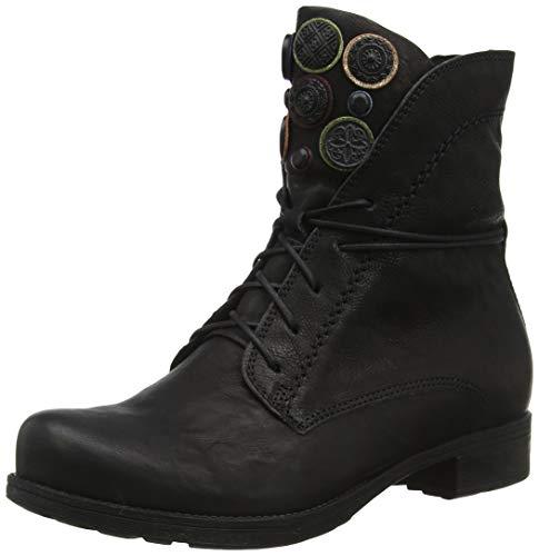 Think! Damen Denk_585013 Desert Boots, Schwarz (Sz/Kombi 09), 40.5 EU