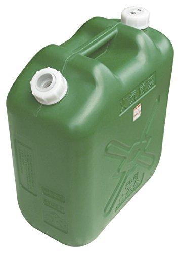 ヒシエス 軽油缶スリム20L(消防法適合品)ノズル付