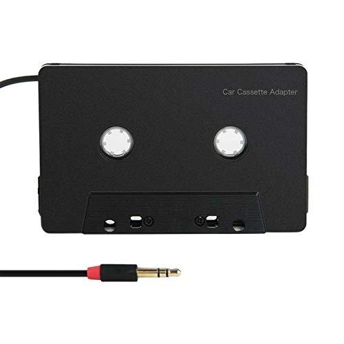 YUYAN 3.5mm Cuatro Canales Antienredos Mini ABS Estéreo Entrada De Cassette Adaptador De Audio De Coche Para I-phone Para Teléfono De Interfaz Tipo C