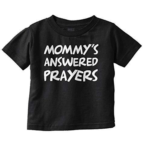 Brisco Brands Mommys Answered Prayers Religious Christian Toddler T Shirt covid 19 (One Christian Toddler Shirt coronavirus)