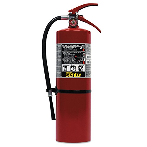Ansul 850-436500-AA10S Sentry Dry Chemical Hand Portable Extinguisher, 10 lb