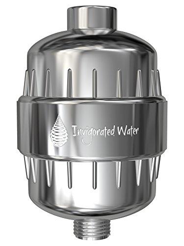 pH Energize - Mehrstufen-Duschfilter - filtert u. a. Fluorid & Chlor - erhöht pH-Wert & Redoxpotential - macht Leitungswasser weicher - einfache Installation - kompatibel mit meisten Duschköpfen