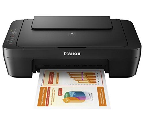 Canon MG Series PIXMA MG2525 Inkjet Photo Printer with Scanner/Copier, Black (Renewed)