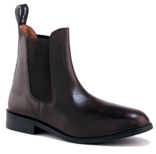Toggi Ottawa Child's Pull On Leather Jodhpur Boot In Brown, Size: 11 by William Hunter Equestrian