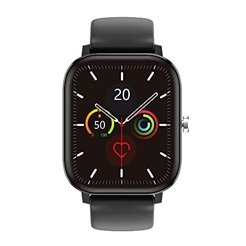 RIGHT TECHNOLOGY APOLLY 3 Smartwatch,1.75 Zoll Touch-Farbdisplay, Fitness Armbanduhr mit Pulsuhr Fitness Tracker Wasserdicht Sportuhr,Schrittzähler
