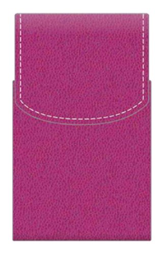Pierre Belvedere Executive Business Card Case, Fuchsia (677180)