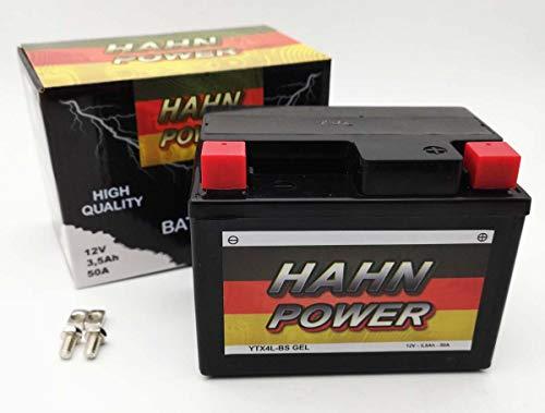 Batterie YTX4L-BS (YT4L-BS) GEL HAHN POWER