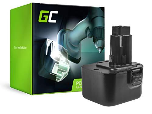 GC® (1.5Ah 12V Ni-MH cellules) A9252 A9275 DC9071 DE9037 DE9071 DE9072 DE9074 DE9075 DE9501 DW9PT176071 DW9072 EZWA49 Batterie pour DeWalt DW927 DC756 Outillage électroportatif
