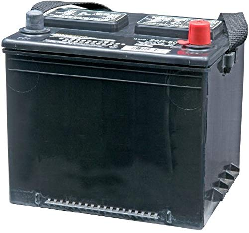 Generac 5819 Model 26R Wet Cell Battery For All Air-cooled Standby Generators, 12 Volts DC, 525 Cold Cranking Amps, Dimensions (LxWxH) 8.7' x 6.8' x 7.6'