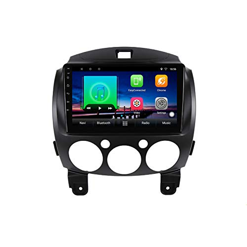 Lettore multimediale DVD per auto Android 10.0 GPS per Mazda 2 2007 2008 2009 2010 2011 2012 navigazione stereo per autoradio