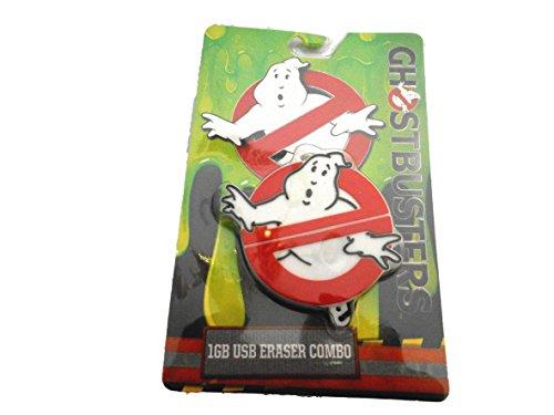 Ghostbusters 2016 Logo Movie/TV Theme 1GB USB Drive & Eraser Combo