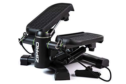 Zipro Roam Stepper - Mini máquina de fitness (incluye ordenador de entrenamiento LCD, muchas funciones, para entrenamiento en casa, swingstepper para piernas y glúteos, resistente al desgaste,