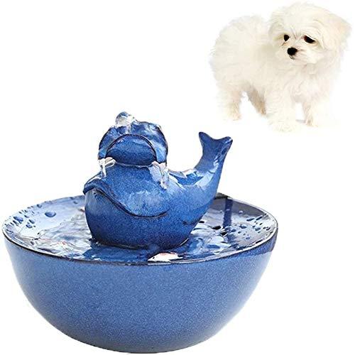 Keramische Fontein Voor Katten, Katten- En Hondenwaterdispenser, Automatische Circulatie Filter Drinkbak, Draagbare Dierbenodigdheden Dierbenodigdheden