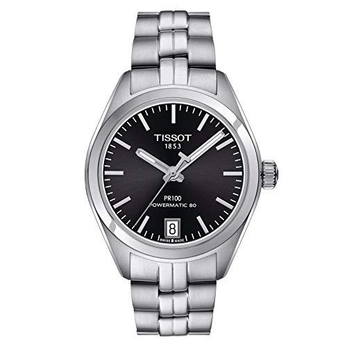 Tissot Damen-Uhren Analog Automatik, Gangreserve ca. 80 Std. One Size Edelstahl 86948541
