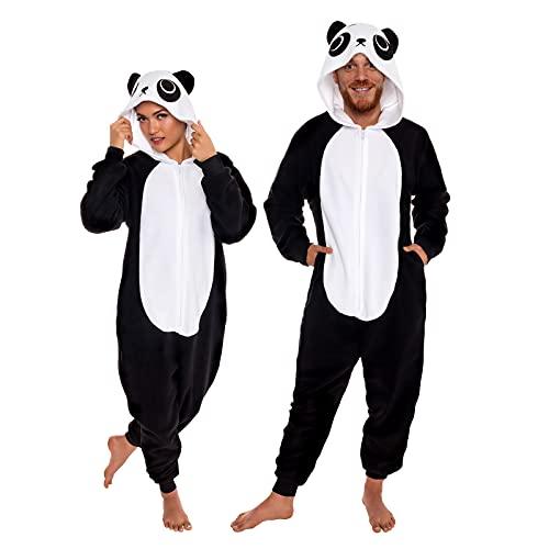 Slim Fit Animal Pajamas - Adult One Piece Cosplay Panda Costume by...