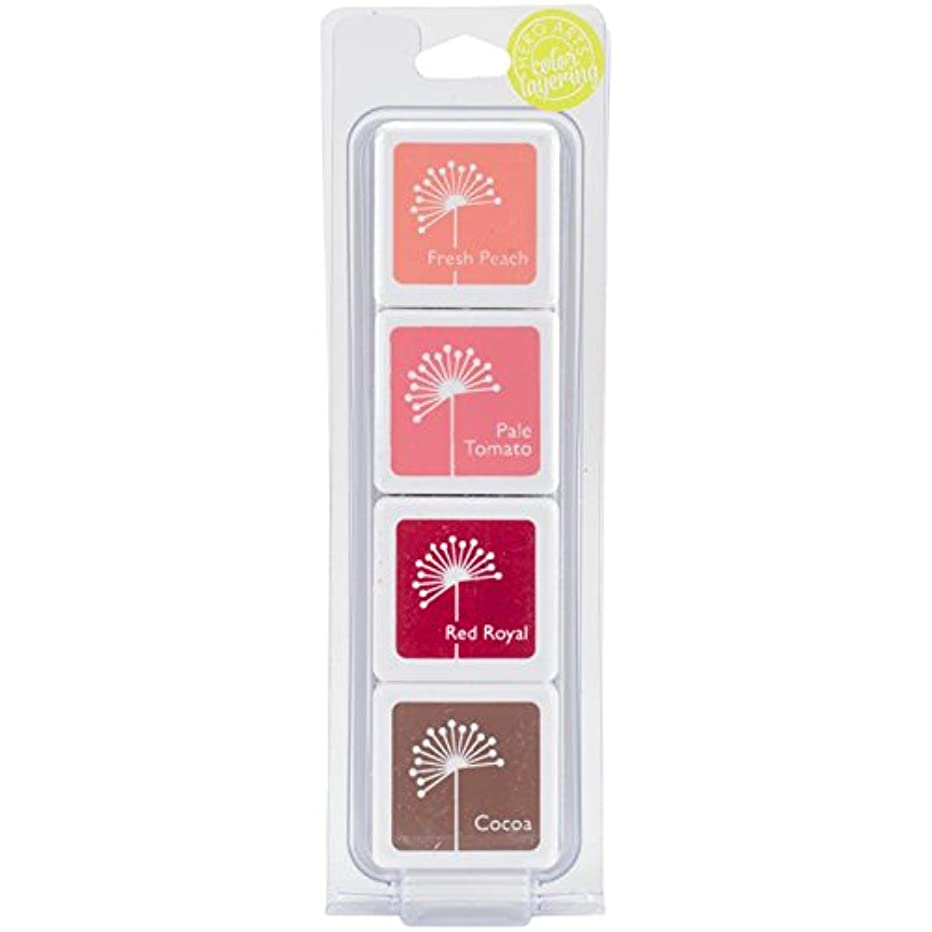 Hero Arts AF353 Jayne's Blush Layering Stamp Pad Set