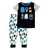 Lamaze Organic Baby Organic Baby/Toddler Girl, Boy, Unisex Tight Fit, Black ice Cream, 12 Months