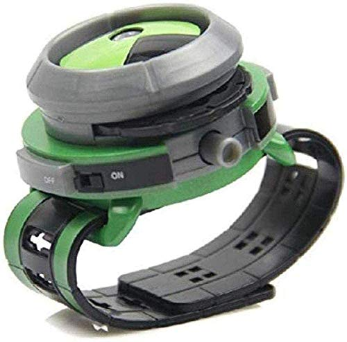 WUluMEI Tronzo 21cm Ben 10 Omnitrix Reloj Estilo niños proyector Reloj Juguete...