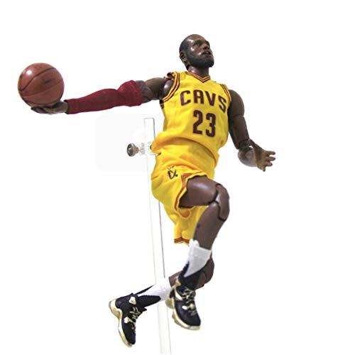 ZRY NBA Lebron James Action Figure Cavs Jersey Modell populäre Karikatur-Geschenk-Spielzeug Dekorationen Basketball Sports Puppe Ornamente