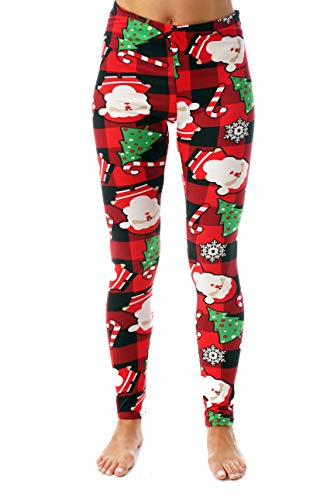 Just Love Ugly Christmas Holiday Leggings 401583-10340-2X