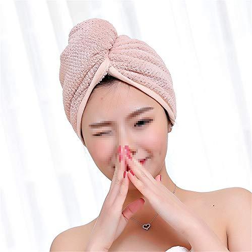 Haar Handdoek 2 STKS Sneldrogende Handdoek Verpakt Merbau Wrapping Handdoek Droog Haar Hoed Verpakt In Een Douche Met Knopen Haar Turban Towe
