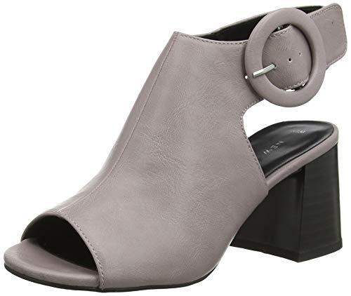 New Look Sapple, Zapatos con Tacon y Correa de Tobillo para Mujer, Morado (Lilac 55), 39 EU