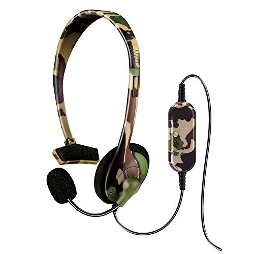 dreamGEAR Broadcaster Wired Headset for the PS3 with Flexible Boom Microphone and Inline Volume/Mute Control